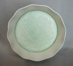 Copper hoop platter image