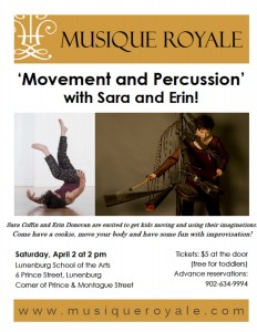 Movement and Percussion poster