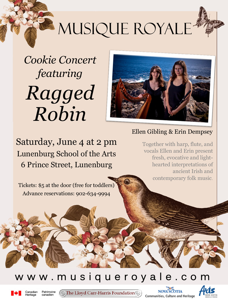 Cookie Concert: Musique Royale presents Ragged Robin