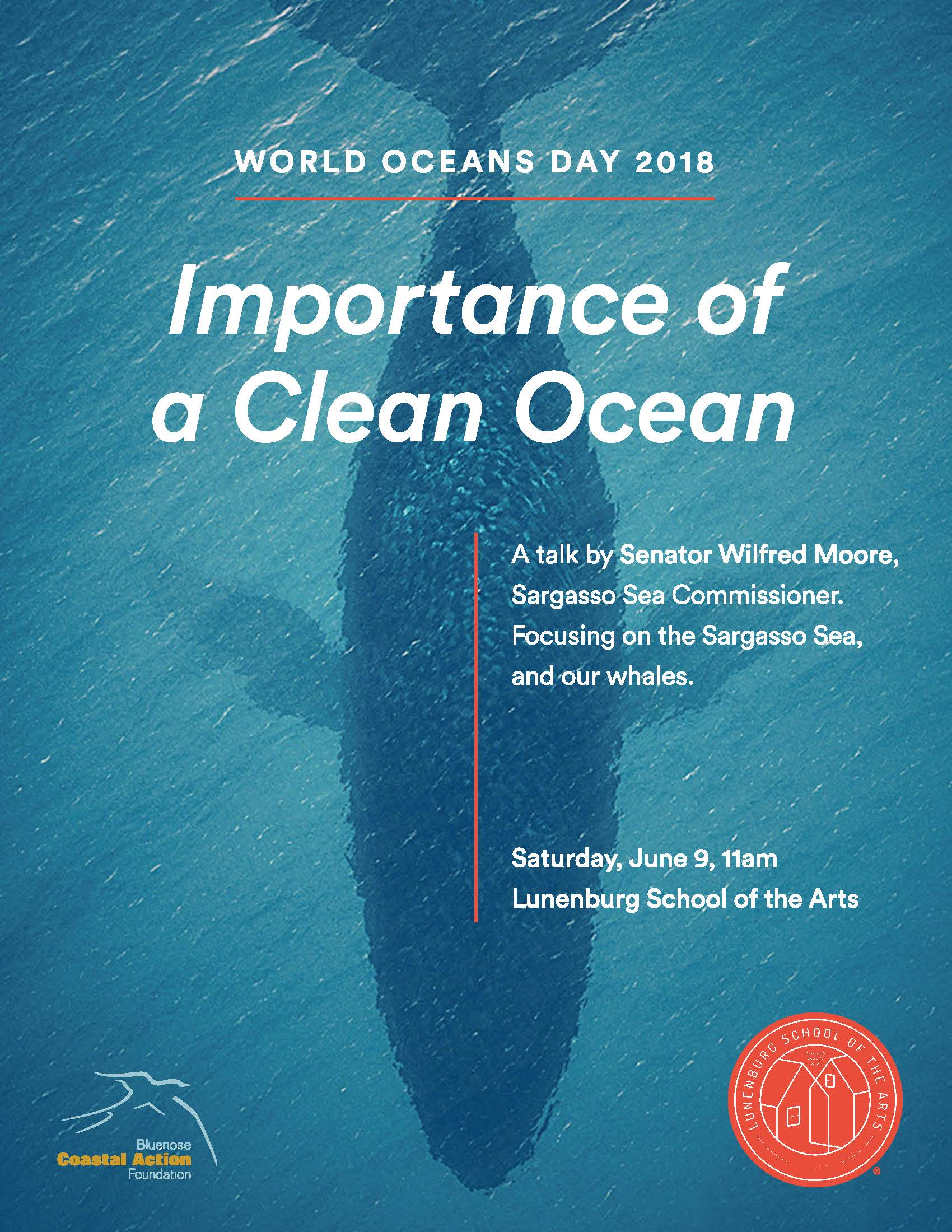 world oceans day 2018 importance of a clean ocean a talk by