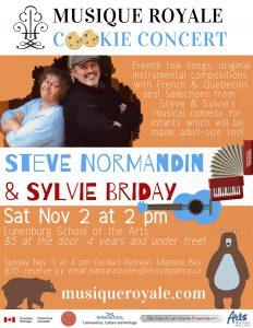 Steve & Sylvie poster