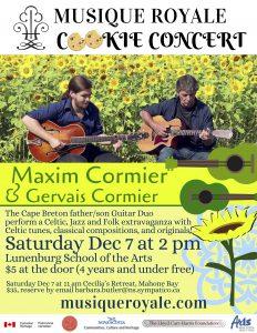 Maxim & Gervais Cormier poster