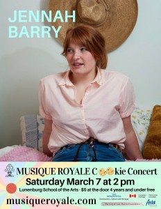 Jennah Barry Poster