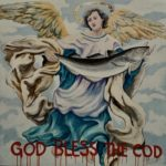 """""""God Bless The Cod"""", Oil on Canvas (52"""" x 52"""") by Judy Matthews"""